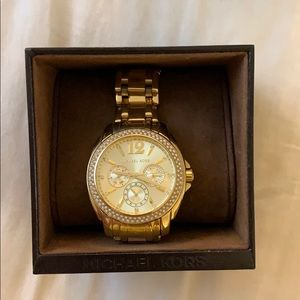 Michael Kors Gold Watch